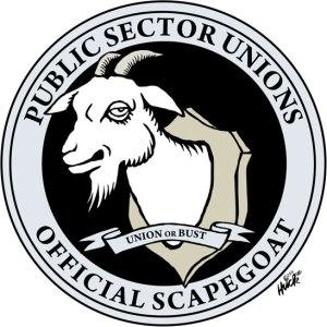 public_sector_unions_official_scape_goat